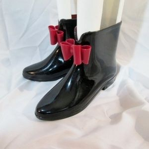 HENRY FERRERA Wellies Rain Duck Ankle Boot Bootie
